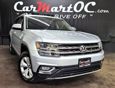 2018 Volkswagen Atlas for sale at CarMart OC in Costa Mesa, Orange County CA