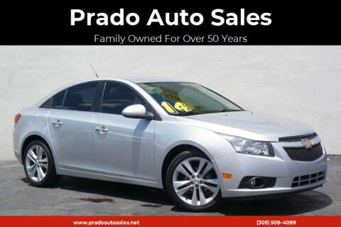 2014 Chevrolet Cruze for sale at Prado Auto Sales in Miami FL