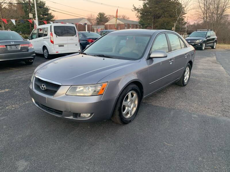 2006 Hyundai Sonata for sale at Lux Car Sales in South Easton MA