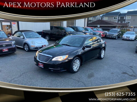 2013 Chrysler 200 for sale at Apex Motors Parkland in Tacoma WA