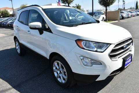2019 Ford EcoSport for sale at DIAMOND VALLEY HONDA in Hemet CA