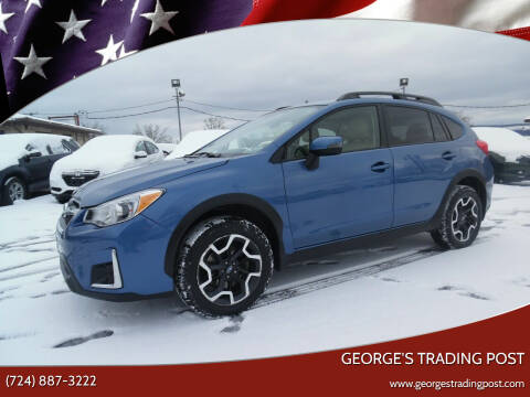 2017 Subaru Crosstrek for sale at GEORGE'S TRADING POST in Scottdale PA