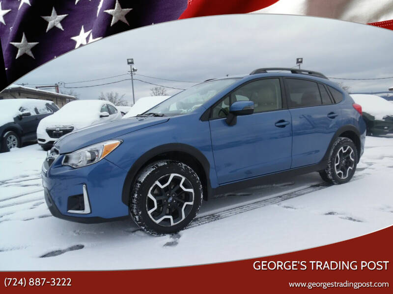 2017 Subaru Crosstrek for sale at GEORGE'S TRADING POST in Scottdale PA