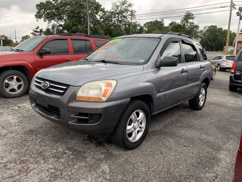 2007 Kia Sportage for sale at Credit Connection Auto Sales Dover in Dover PA