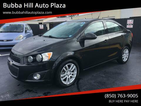 2013 Chevrolet Sonic for sale at Bubba Hill Auto Plaza in Panama City FL