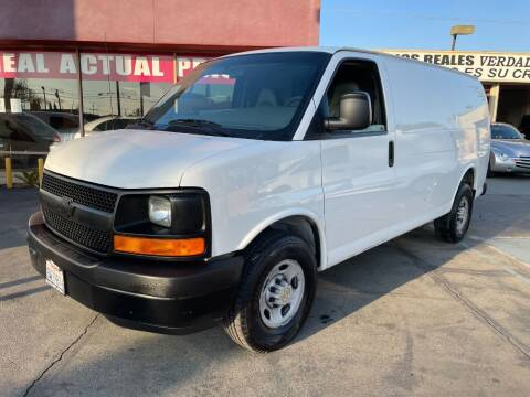 2009 Chevrolet Express Cargo for sale at Sanmiguel Motors in South Gate CA