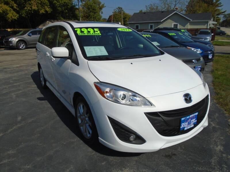2012 Mazda MAZDA5 for sale at DISCOVER AUTO SALES in Racine WI