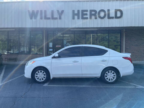 2013 Nissan Versa for sale at Willy Herold Automotive in Columbus GA