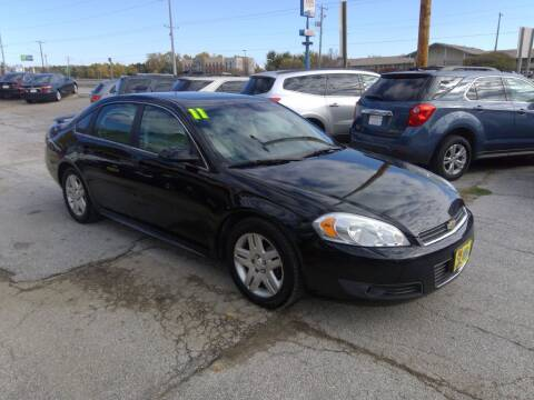 2011 Chevrolet Impala for sale at Regency Motors Inc in Davenport IA