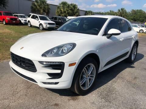 2015 Porsche Macan for sale at Top Garage Commercial LLC in Ocoee FL