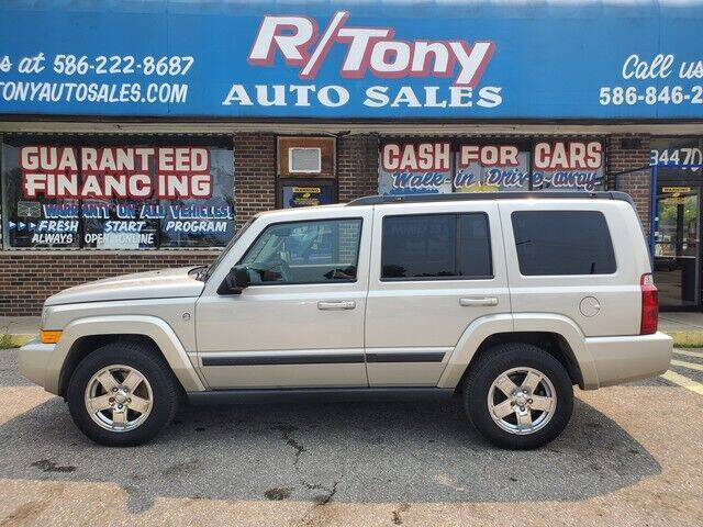 2007 Jeep Commander for sale at R Tony Auto Sales in Clinton Township MI