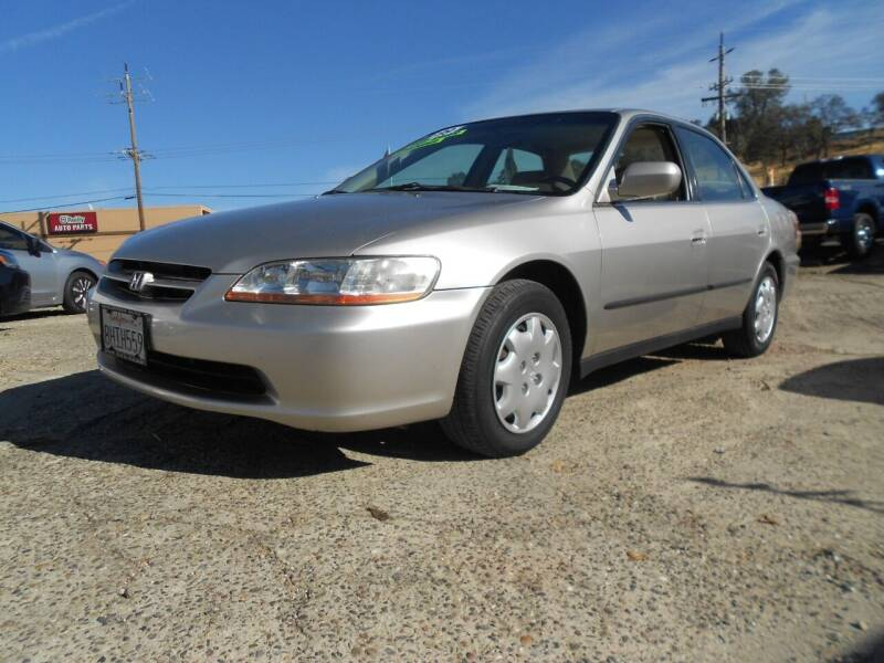 1999 Honda Accord for sale at Mountain Auto in Jackson CA