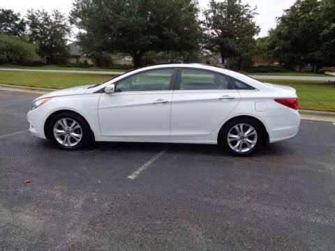 2012 Hyundai Sonata for sale at BALKCUM AUTO INC in Wilmington NC