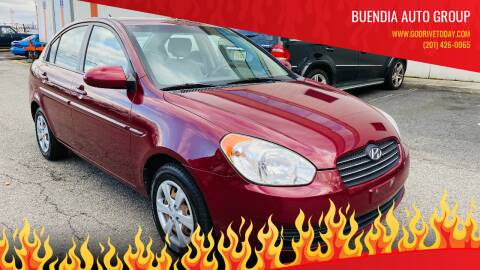 2009 Hyundai Accent for sale at BUENDIA AUTO GROUP in Hasbrouck Heights NJ
