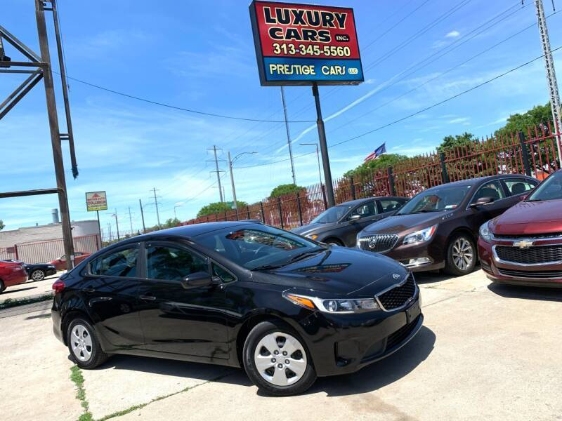 2017 Kia Forte for sale at Dymix Used Autos & Luxury Cars Inc in Detroit MI