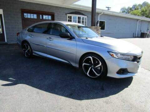 2021 Honda Accord for sale at Specialty Car Company in North Wilkesboro NC