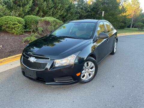 2013 Chevrolet Cruze for sale at Aren Auto Group in Sterling VA