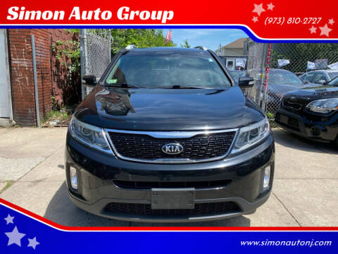 2015 Kia Sorento for sale at Simon Auto Group in Newark NJ