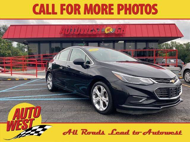 2017 Chevrolet Cruze for sale at Autowest of GR in Grand Rapids MI