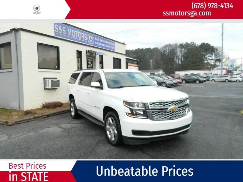 2015 Chevrolet Suburban for sale at S & S Motors in Marietta GA