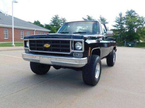 1978 Chevrolet C/K 10 Series for sale at WEST PORT AUTO CENTER INC in Fenton MO