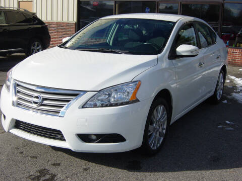2014 Nissan Sentra for sale at North South Motorcars in Seabrook NH