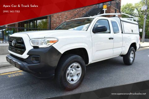 2016 Toyota Tacoma for sale at Apex Car & Truck Sales in Apex NC