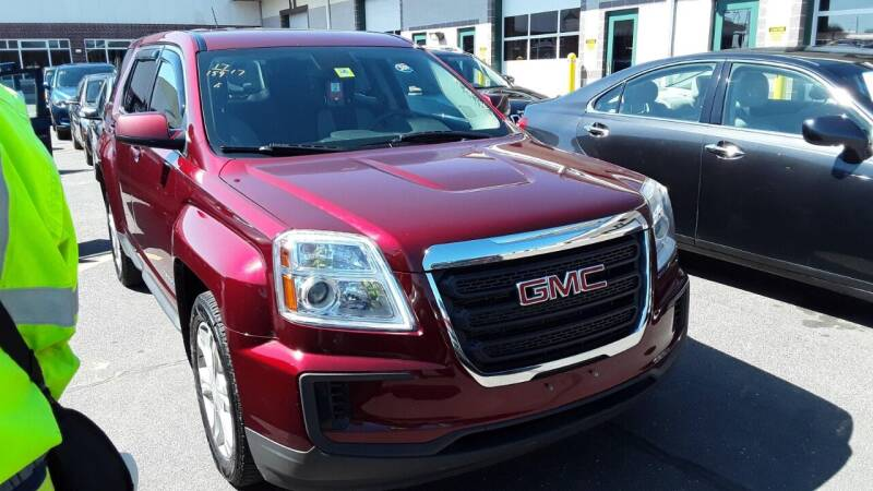 2017 GMC Terrain for sale at Franklyn Auto Sales in Cohoes NY