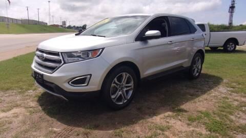 2016 Ford Edge for sale at 6 D's Auto Sales MANNFORD in Mannford OK