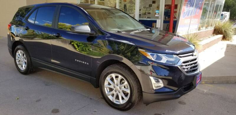 2020 Chevrolet Equinox for sale at Swift Auto Center of North Platte in North Platte NE