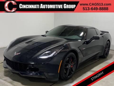 2014 Chevrolet Corvette for sale at Cincinnati Automotive Group in Lebanon OH