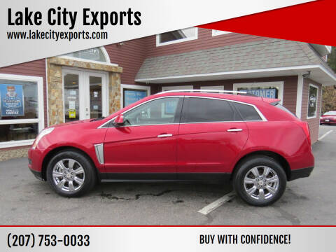 2014 Cadillac SRX for sale at Lake City Exports in Auburn ME