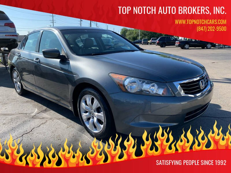 2010 Honda Accord for sale at Top Notch Auto Brokers, Inc. in Palatine IL