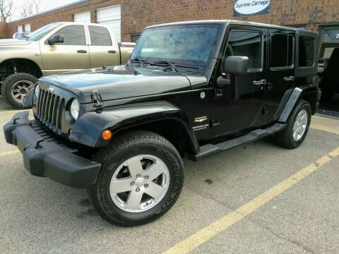2007 Jeep Wrangler Unlimited for sale at Supreme Carriage in Wauconda IL