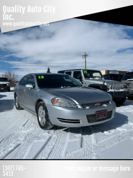 2012 Chevrolet Impala for sale at Quality Auto City Inc. in Laramie WY