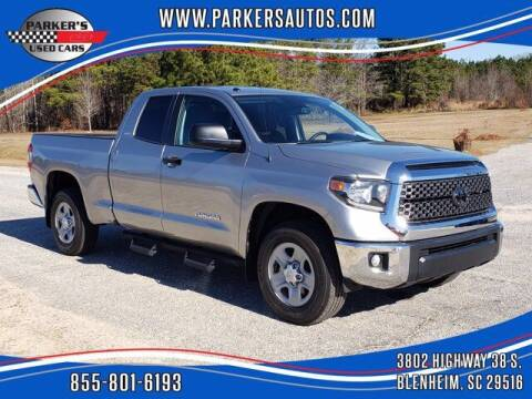2018 Toyota Tundra for sale at Parker's Used Cars in Blenheim SC