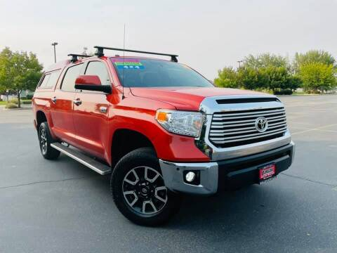2016 Toyota Tundra for sale at Bargain Auto Sales LLC in Garden City ID