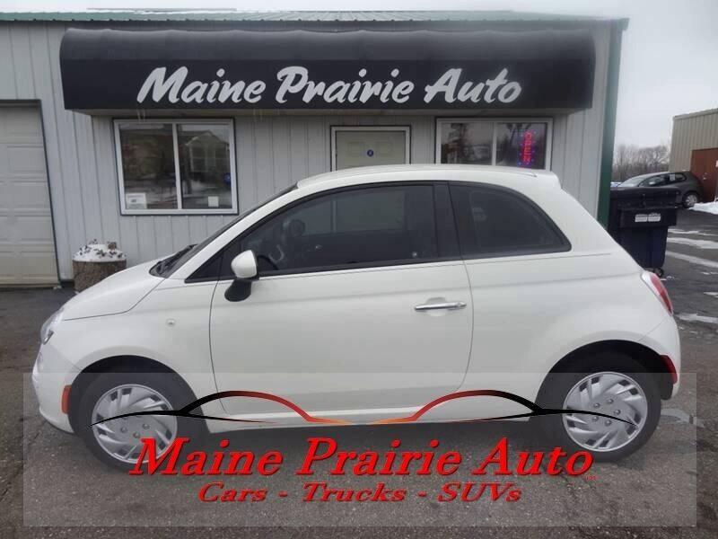 2015 FIAT 500 for sale at Maine Prairie Auto INC in Saint Cloud MN