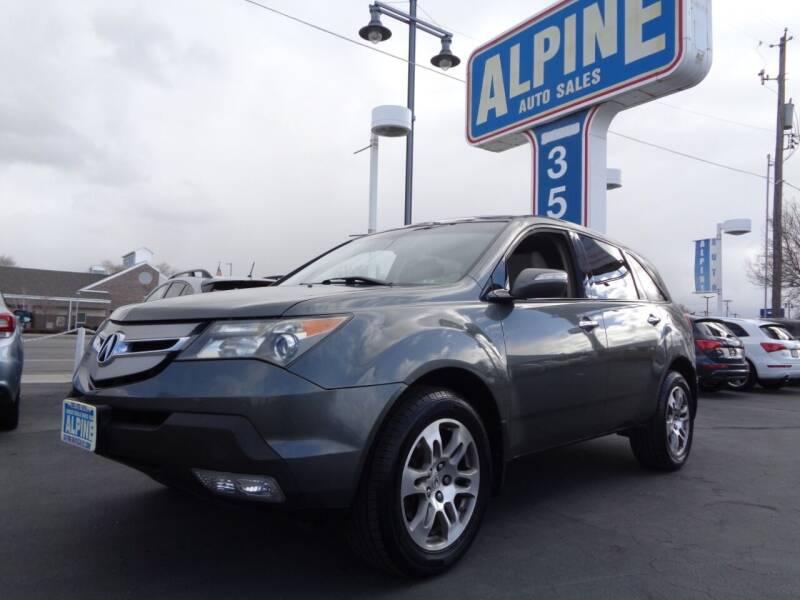 2008 Acura MDX for sale at Alpine Auto Sales in Salt Lake City UT