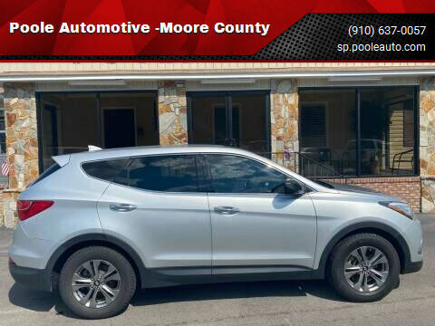 2016 Hyundai Santa Fe Sport for sale at Poole Automotive -Moore County in Aberdeen NC