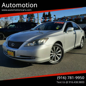 2007 Lexus ES 350 for sale at Automotion in Roseville CA