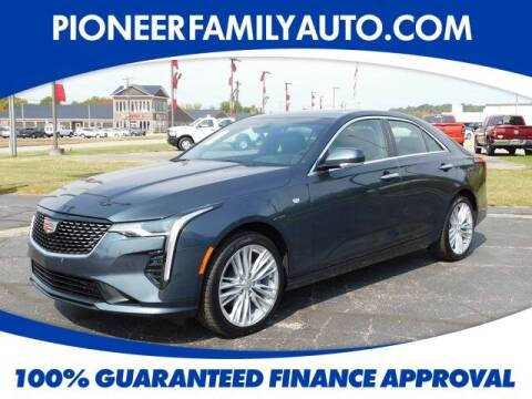 2020 Cadillac CT4 for sale at Pioneer Family auto in Marietta OH