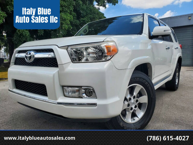 2013 Toyota 4Runner for sale at Italy Blue Auto Sales llc in Miami FL