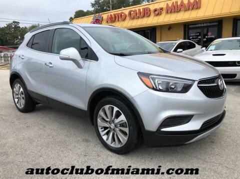 2017 Buick Encore for sale at AUTO CLUB OF MIAMI in Miami FL