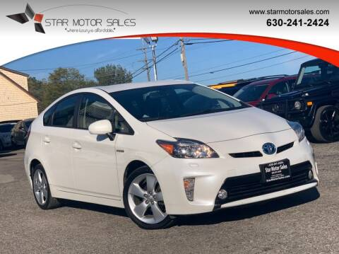 2013 Toyota Prius for sale at Star Motor Sales in Downers Grove IL