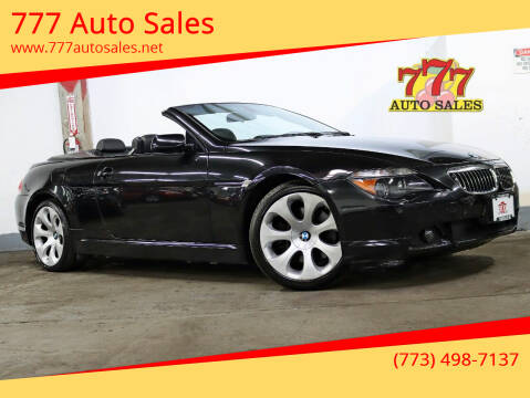 2006 BMW 6 Series for sale at 777 Auto Sales in Bedford Park IL