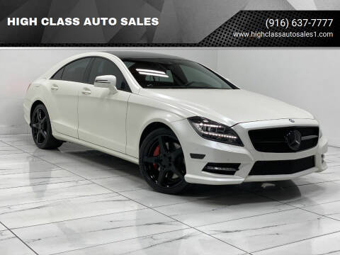 2013 Mercedes-Benz CLS for sale at HIGH CLASS AUTO SALES in Rancho Cordova CA