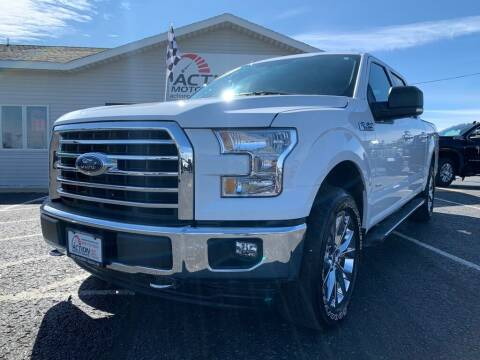 2017 Ford F-150 for sale at Action Motor Sales in Gaylord MI