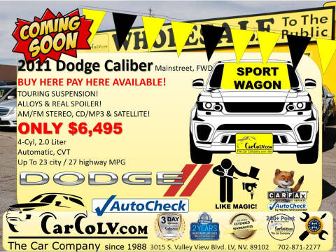 2011 Dodge Caliber for sale at The Car Company in Las Vegas NV