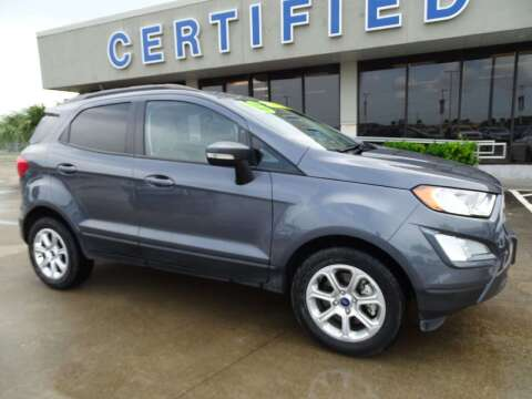 2019 Ford EcoSport for sale at Mac Haik Ford Pasadena in Pasadena TX